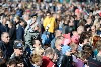 Развод караулов Президентского полка на площади Ленина. День России-2016, Фото: 23