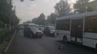 ДТП троллейбус столкнулся с Фольксвагеном, Фото: 3