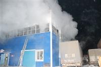 Пожар на складе ОАО «Тулабумпром». 30 января 2014, Фото: 8