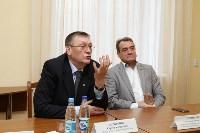 Встреча Сергея Харитонова со студентами ТулГУ, Фото: 5