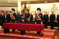 В Туле прошла церемония крепления к древку полотнища знамени регионального УМВД, Фото: 9