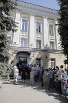 В Туле пенсионеры толпятся в огромной очереди на продление проездных, Фото: 13