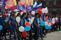 Тульская Федерация профсоюзов провела митинг и первомайское шествие. 1.05.2014, Фото: 15