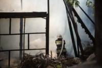 На стройке на улице Фрунзе сгорели вагончики рабочих., Фото: 4
