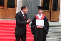 Владимир Груздев поздравил выпускников магистратуры ТулГУ, Фото: 20