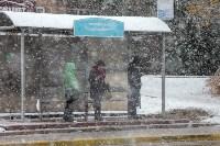 Первый снег в Туле, Фото: 8