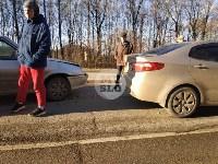На автодороге «Тула — Новомосковск» столкнулись пять машин, Фото: 7