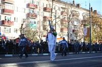 Третий этап эстафеты олимпийского огня: проспект Ленина, Фото: 25