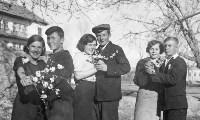 """""""Последний звонок"""", середина 50-х, Фото: 5"""
