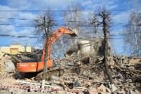 Снос аварийного дома на улице Октябрьской, Фото: 45