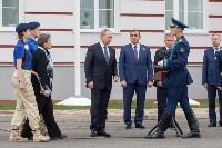 Путин в Суворовском училище, Фото: 69