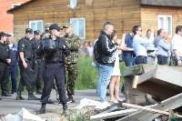 Демонтаж незаконных цыганских домов в Плеханово и Хрущево, Фото: 31