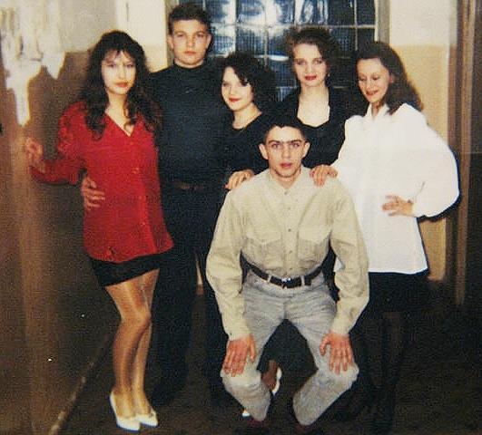 1995-1996 год, общежитие Политеха.