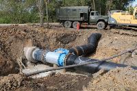Как ведется монтаж водовода, питающего водой Пролетарский округ Тулы. Фото, Фото: 14