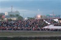 Шоу фонтанов на Упе. 9 мая 2014 года., Фото: 12