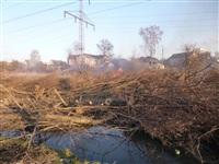 Возгорание сухой травы на ул.Комбайновая, Фото: 6