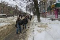 Сотрудники администрации Тулы проинспектировали уборку снега в городе, Фото: 5