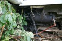 В Барсуках фура влетела в огород и сломала дерево, Фото: 14