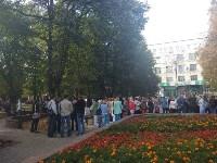 Массовая эвакуация людей в Туле, Фото: 14