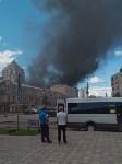 Загорелся недостроенный ТЦ на Красноармейском проспекте, Фото: 16
