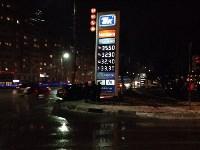 Авария вечером 15 декабря: легковушка врезалась в заправочную стеллу, Фото: 4
