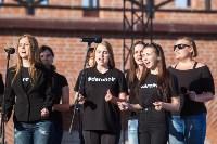 В Туле открылось новая молодежная площадка «Газон». Фоторепортаж, Фото: 52