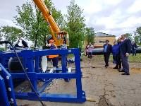 В Туле меняют аварийный участок трубы, из-за которого отключали воду в Пролетарском округе, Фото: 11