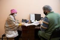 В Киреевске поликлинике помогают волонтеры, Фото: 43