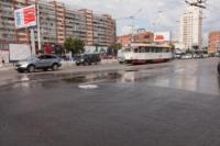 Возле роддома в центре Тулы забил фонтан, Фото: 1