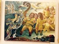 выставка тульского художника, пропавшего в Кармадоне с Сергеем Бодровым, Фото: 17