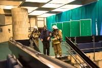 Тульские пожарные провели учения в драмтеатре, Фото: 10
