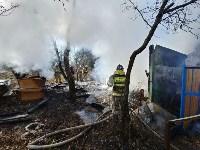 На Косой Горе в Туле пожар уничтожил дачу, Фото: 4