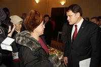 Владимир Груздев в Белевском районе. 17 декабря 2013, Фото: 76