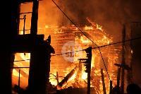 Крупный ночной пожар в Туле, Фото: 36