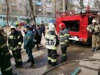 Пожар на ул. Октябрьской, Фото: 1