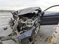 В серьезном ДТП на М-2 в Туле пострадали три человека, Фото: 6