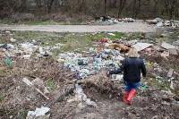 В Туле на берегу Тулицы обнаружен незаконный мусорный полигон, Фото: 33