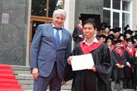 Владимир Груздев поздравил выпускников магистратуры ТулГУ, Фото: 73