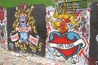 Бывшая «стена Цоя» (рядом с Тульским драмтеатром)  сегодня пестрит лозунгами типа «Помни свои корни!»., Фото: 15
