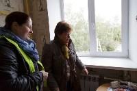 Алексей Дюмин посетил дом в Ясногорске, восстановленный после взрыва, Фото: 13