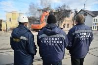 Снос аварийного дома на улице Октябрьской, Фото: 34