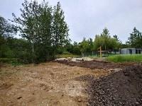 """""""Озеро"""" в Комарках засыпают доломитовой мукой, Фото: 7"""