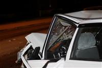 На ул. Металлургов в Туле лоб в лоб столкнулись две Daewoo, Фото: 14