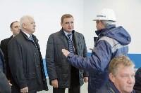 В Узловском районе Алексей Дюмин посетил  ОАО «Пластик», Фото: 11