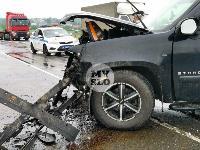 В серьезном ДТП на М-2 в Туле пострадали три человека, Фото: 20