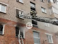 На улице Металлургов в Туле загорелась квартира , Фото: 12