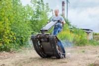 Туляк Виталий Галеев придумал сегвей на гусеницах, Фото: 11