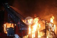 Крупный ночной пожар в Туле, Фото: 21