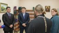 Владимир Груздев поучаствовал в торжественной церемонии открытия Центра детского творчества, Фото: 2