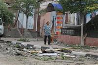 Последствия урагана в Ефремове., Фото: 3